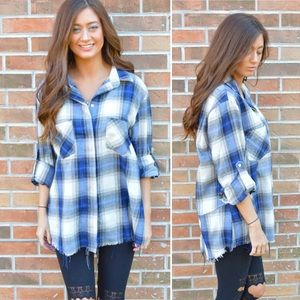 Tops - 🎀New Arrival🎀 Mountain Views Plaid Top